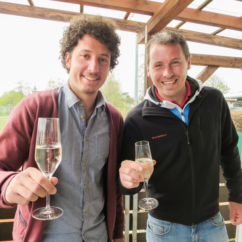 TC Ebersberg Gaetano Marrone und Tobias Kiesel